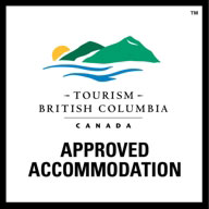 Tourism BC Approved Accommodation